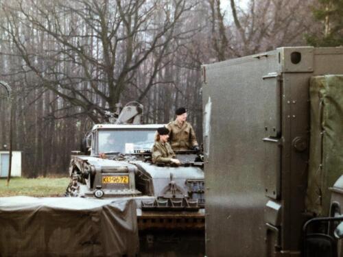1989 A Esk 103 Verkbat Oefening omgeving Luneburger Heide Inzender Marcel Grandia 8
