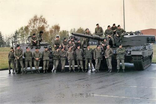 1989 B Esk 103 Verkbat 3e Pel PC Elnt Menno Lodders Opc Wmr I Henk Bosman en 2e ber. Jack v Egmond