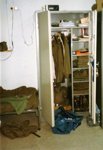 1989 SSV Esk 103 Verkbat PSU kast bijna goed voor inspectie. Foto Johan Hendriks