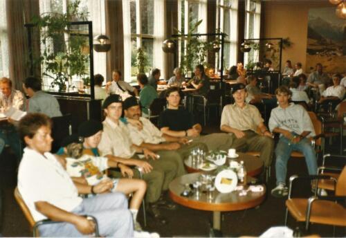 1989 SSV Esk 103 Verkbat. Fotos van Huz Johan Hendriks Ouderweekend 1
