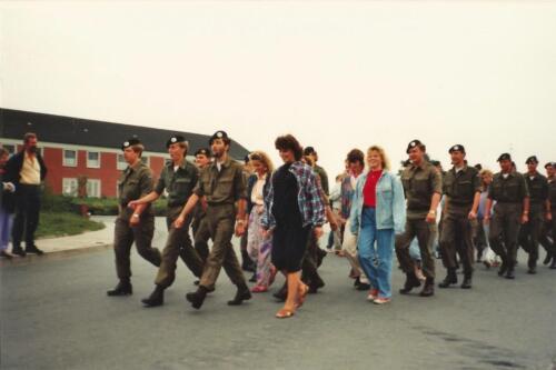1989 SSV Esk 103 Verkbat. Fotos van Huz Johan Hendriks Ouderweekend 10