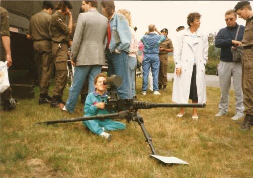 1989 SSV Esk 103 Verkbat. Fotos van Huz Johan Hendriks Ouderweekend 11