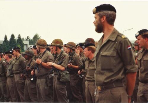 1989 SSV Esk 103 Verkbat. Fotos van Huz Johan Hendriks Ouderweekend 3