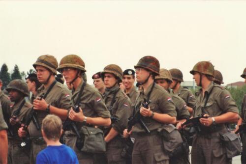 1989 SSV Esk 103 Verkbat. Fotos van Huz Johan Hendriks Ouderweekend 4