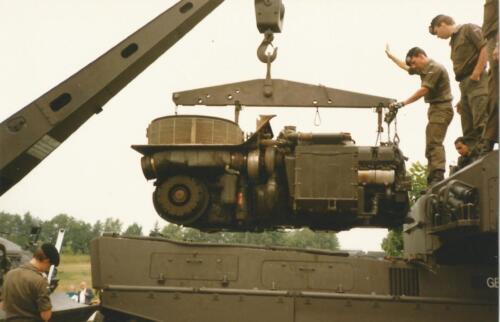 1989 SSV Esk 103 Verkbat. Fotos van Huz Johan Hendriks Ouderweekend 5a.