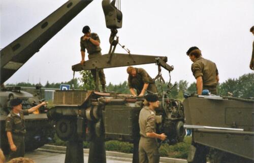 1989 SSV Esk 103 Verkbat. Fotos van Huz Johan Hendriks Ouderweekend 6