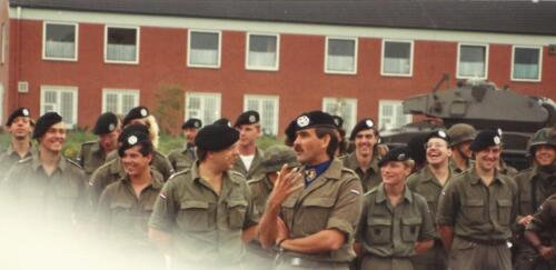 1989 SSV Esk 103 Verkbat. Fotos van Huz Johan Hendriks Ouderweekend 7