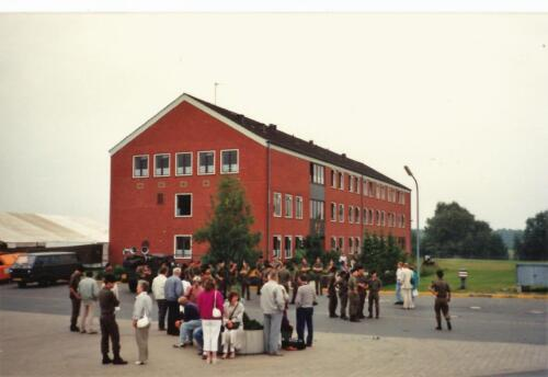 1989 SSV Esk 103 Verkbat. Fotos van Huz Johan Hendriks Ouderweekend 9