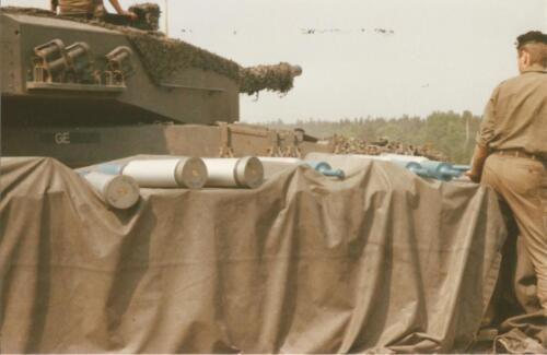 1989 SSV Esk 103 Verkbat. Fotos van Huz Johan Hendriks. Battle run en schietoefeningen 1