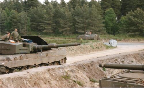 1989 SSV Esk 103 Verkbat. Fotos van Huz Johan Hendriks. Battle run en schietoefeningen 2