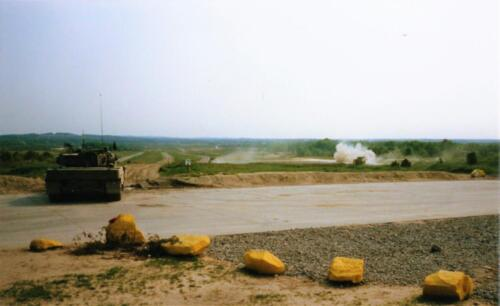 1989 SSV Esk 103 Verkbat. Fotos van Huz Johan Hendriks. Battle run en schietoefeningen 3