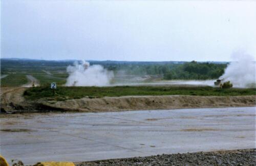 1989 SSV Esk 103 Verkbat. Fotos van Huz Johan Hendriks. Battle run en schietoefeningen 4