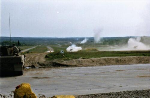 1989 SSV Esk 103 Verkbat. Fotos van Huz Johan Hendriks. Battle run en schietoefeningen 5