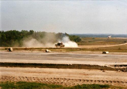 1989 SSV Esk 103 Verkbat. Fotos van Huz Johan Hendriks. Battle run en schietoefeningen 6
