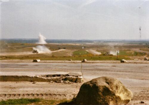 1989 SSV Esk 103 Verkbat. Fotos van Huz Johan Hendriks. Battle run en schietoefeningen 7