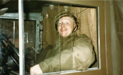 1989 SSV Esk 103 Verkbat. Fotos van Huz Johan Hendriks. Collegas 5
