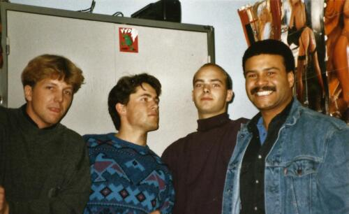 1989 SSV Esk 103 Verkbat. Fotos van Huz Johan Hendriks. Collegas 8
