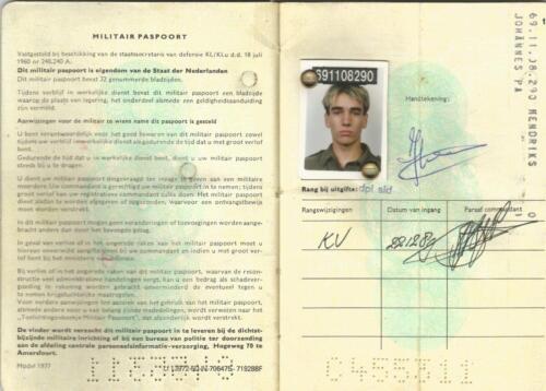 1989 SSV Esk 103 Verkbat. Fotos van Huz Johan Hendriks. Documenten etc 5
