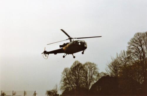 1989 SSV Esk 103 Verkbat. Fotos van Huz Johan Hendriks. Helikopter 2