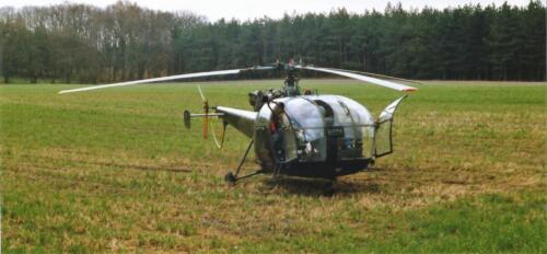 1989 SSV Esk 103 Verkbat. Fotos van Huz Johan Hendriks. Helikopter 3