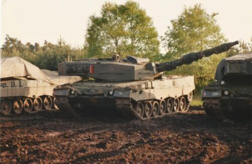 1989 SSV Esk 103 Verkbat. Fotos van Huz Johan Hendriks. Voertuigen 1