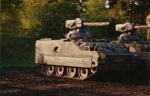 1989 SSV Esk 103 Verkbat. Fotos van Huz Johan Hendriks. Voertuigen 10