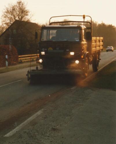 1989 SSV Esk 103 Verkbat. Fotos van Huz Johan Hendriks. Voertuigen 14