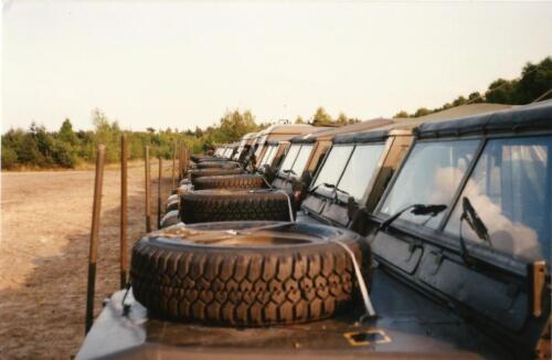 1989 SSV Esk 103 Verkbat. Fotos van Huz Johan Hendriks. Voertuigen 2