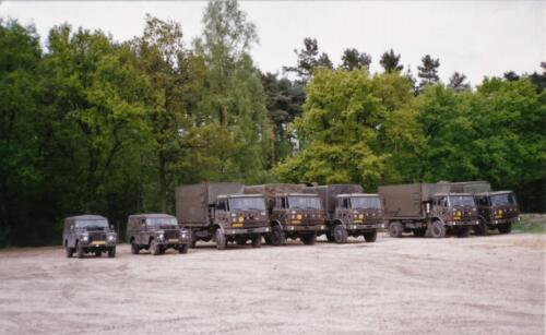1989 SSV Esk 103 Verkbat. Fotos van Huz Johan Hendriks. Voertuigen 3