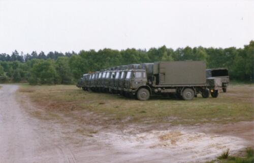 1989 SSV Esk 103 Verkbat. Fotos van Huz Johan Hendriks. Voertuigen 4