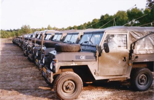 1989 SSV Esk 103 Verkbat. Fotos van Huz Johan Hendriks. Voertuigen 6