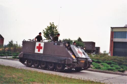 1989 SSV Esk 103 Verkbat. Fotos van Huz Johan Hendriks. Voertuigen 8