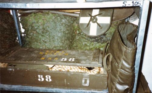 1989 SSV Esk 103 Verkbat. Fotos van de Landrover van Johan Hendriks 2
