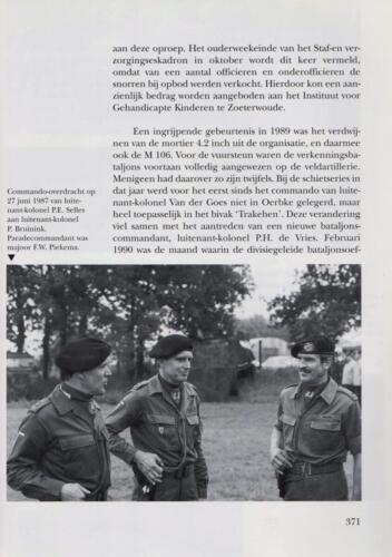1961 - 2002 Par 31 'De Trakehners' Bron boek 'Huzaren van Boreel' uitg. 2003 auteur lkol A. Rens 13