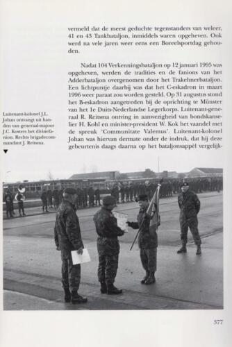 1961 - 2002 Par 31 'De Trakehners' Bron boek 'Huzaren van Boreel' uitg. 2003 auteur lkol A. Rens 19