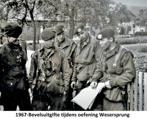 1967 A-Esk 2e Pel 103 Verkbat; Oef Wesersprong-Alte Aller Bevelsuitgifte  PC Tlnt R Meeder. Fotoboek  (1