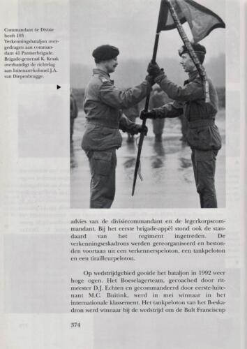 1961 - 2002 Par 31 'De Trakehners' Bron boek 'Huzaren van Boreel' uitg. 2003 auteur lkol A. Rens 16