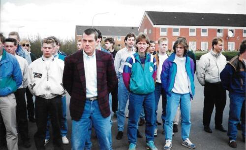 1990 A Esk 103 Verkbat Aantreden voor het verlof