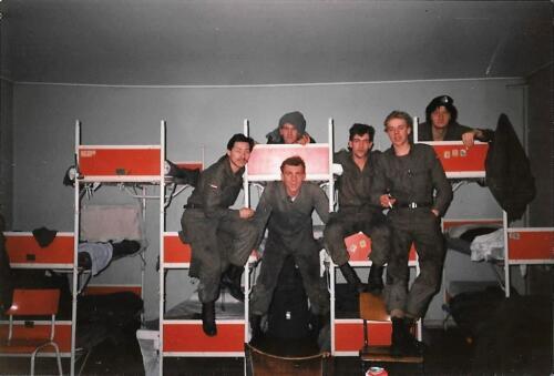 1990 A Esk 103 Verkbat Legering tijdens schietserie