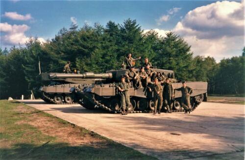 1990 A Esk 103 Verkbat Schietserie Welke kant op