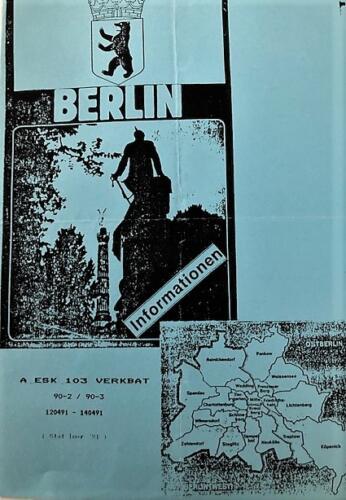 1991 04 02 tm 04 A Esk 103 Verkbat Uitje naar Berlijn Inz. Marcel