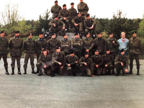 1991 A Esk 103 Verkbat Het stafpeloton Inz. Marcel
