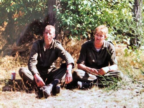 1991 A Esk 103 Verkbat Luneburger Heide links Ben Winkelaar rechts Marcel Grandia Inzender Marcel