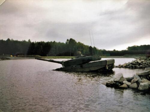 1991 A Esk 103 Verkbat Oefening doorwaden Inz. Marcel Grandia 2