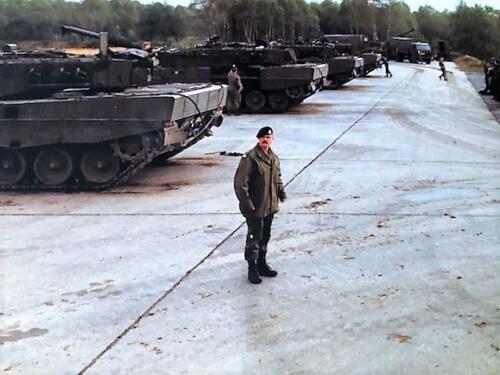 1991 A Esk 103 Verkbat Schietserie Bergen Hohne. Wmr I Chris Neerbos Inz Marcel Grandia