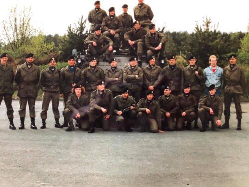 1991 A Esk Stafpeloton 103 Verkbat. Foto Marcel Grandia