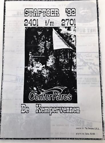 1992 01 24 tm 01 27 A Esk 103 Verkbat Dit jaar niet naar Berlijn maar naar de Kempervennen Marcel 1