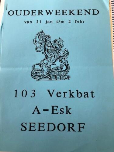 1991 01 31 tm 02 02 A Esk 103 Verkbat Ouderweekend Inzender Marcel 1