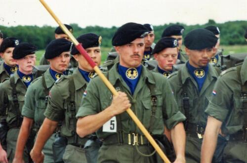 1992 1993 B Esk 103 Verkbat lichting 92 7 Vierdaagse Zeven 1993 Inz. Guy Jeurissen 2
