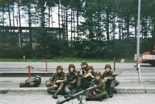1992 B Esk 103 Verkbat lichting 92 7 SEV Bernhardkazerne Inz. Guy Jeurissen 2